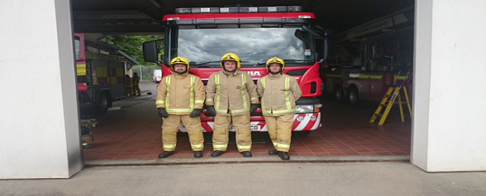 New fire volunteers start their training