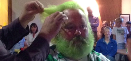 Bhoy oh Bhoy – what a haircut for Angus