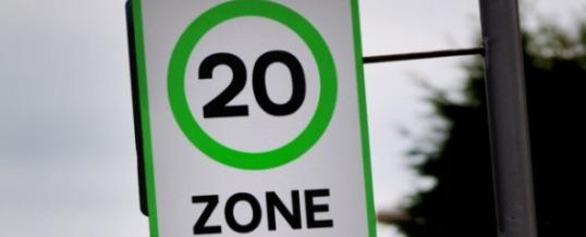 Twenty is Plenty (Near Pedestrians)