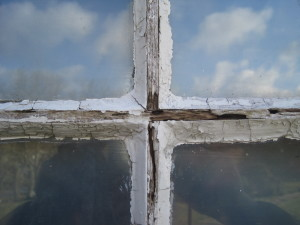 Detail of the glazing bars – which must bear the brunt of winds up to 100mph