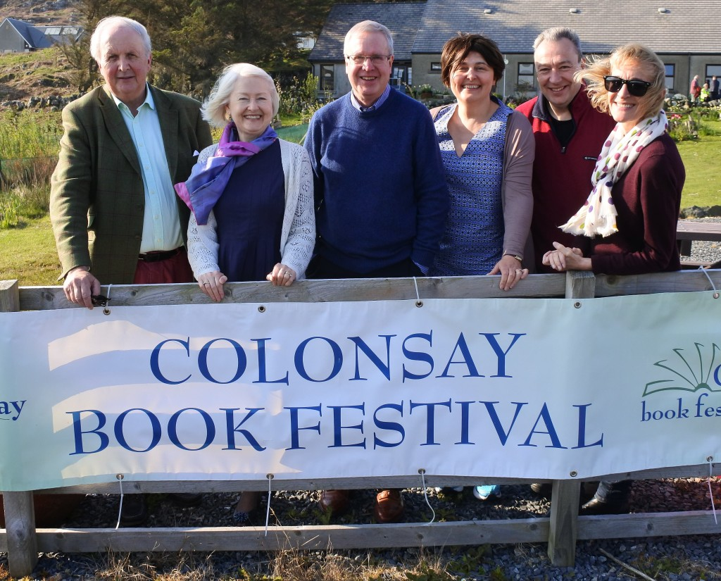 The authors at the 2017 Colonsay Book Festival