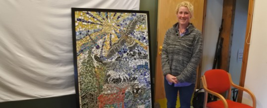 Colonsay Winter Arts Mosaic Project 2016/17