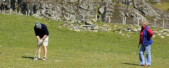 Colonsay Open Golf 2015