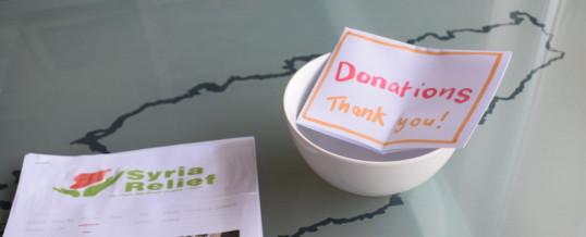 Syria Fundraisers